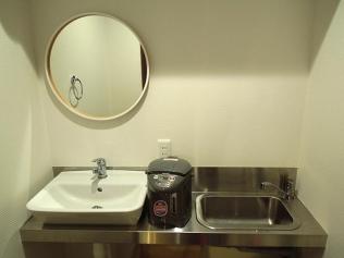 シンクと洗面台